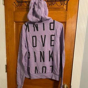 Victoria secret PINK Hoodie Purple